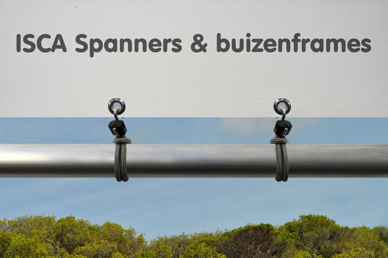 Superfix spanner met S-haak 250 mm Grijs