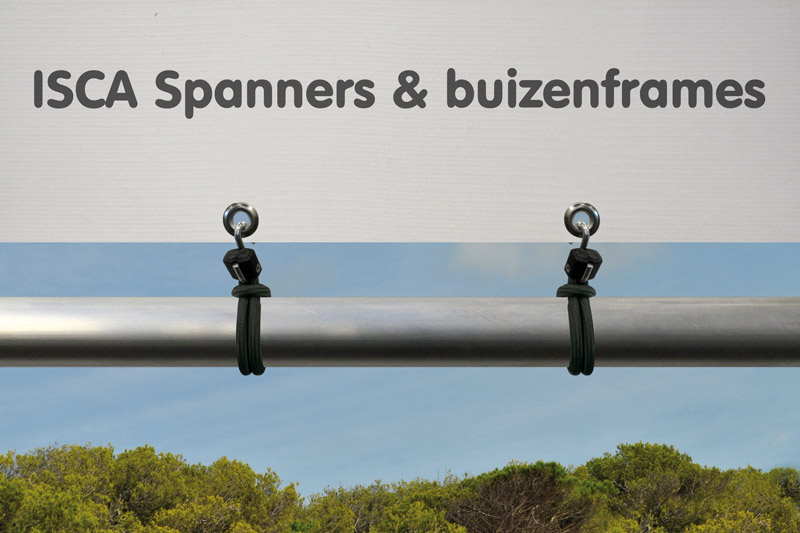 Superfix spanner met S-haak 250 mm Zwart