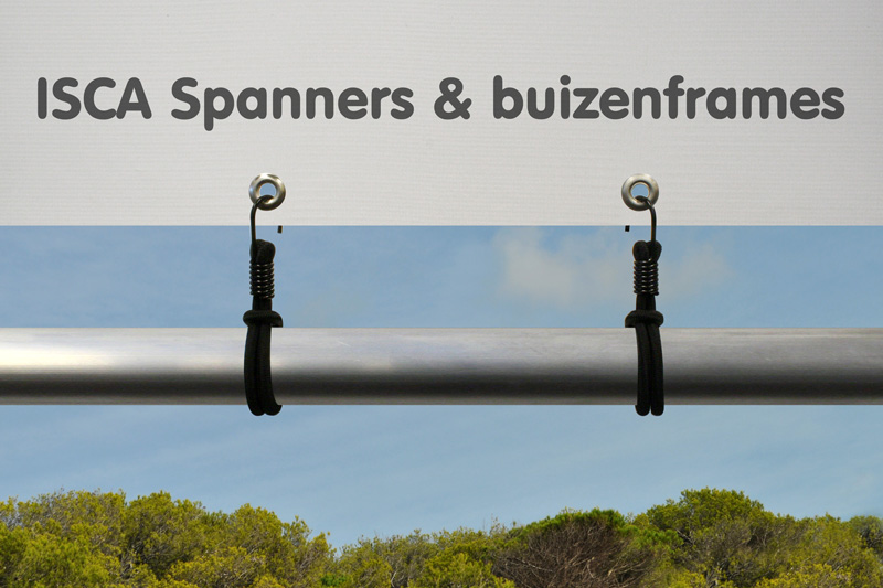 Special hook spanner Zwart 200 mm Ø 8 mm