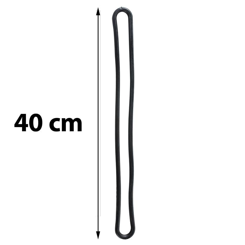 Spinner s-hook black diameter 8 mm length 400 mm