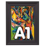 Fancy Frame kliklijst 40 mm A1 RAL 9005 594 x 841 mm