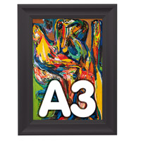 Fancy Frame kliklijst 40 mm A3 RAL 9005 297 x 420 mm