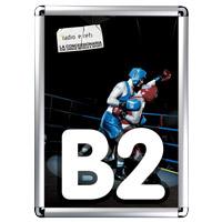 Kliklijst 25 mm profiel B2 ronde hoeken
