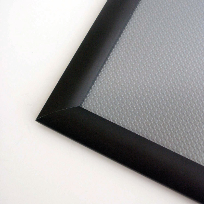 Snap Frame 25 mm A4, black anodised, mitred