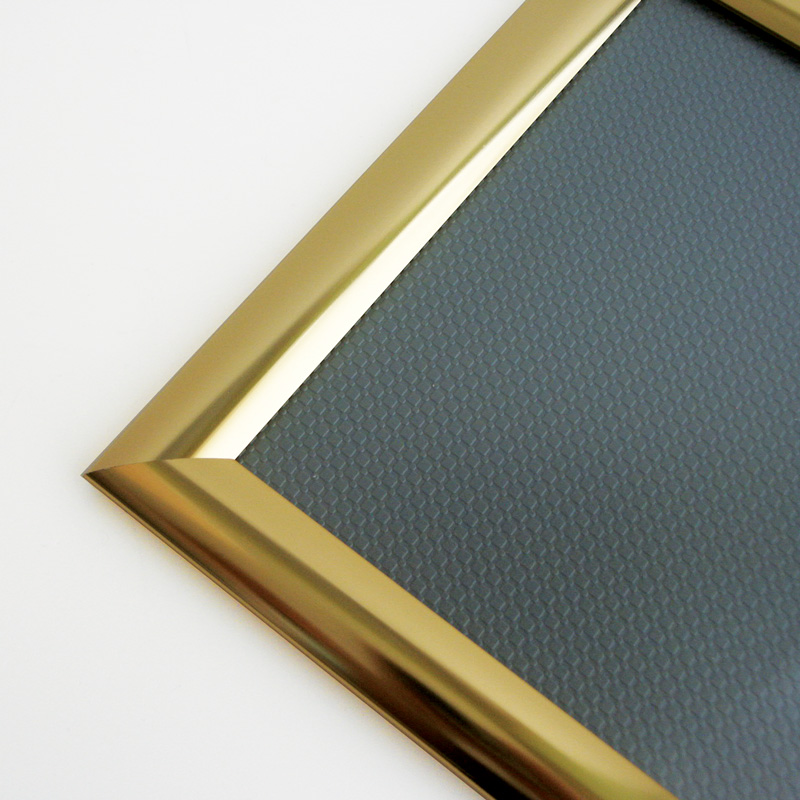 25 mm snap frame A5 golden look