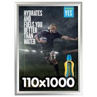 Kliklijst 25 mm verstek poster formaat 110 x 1000 mm