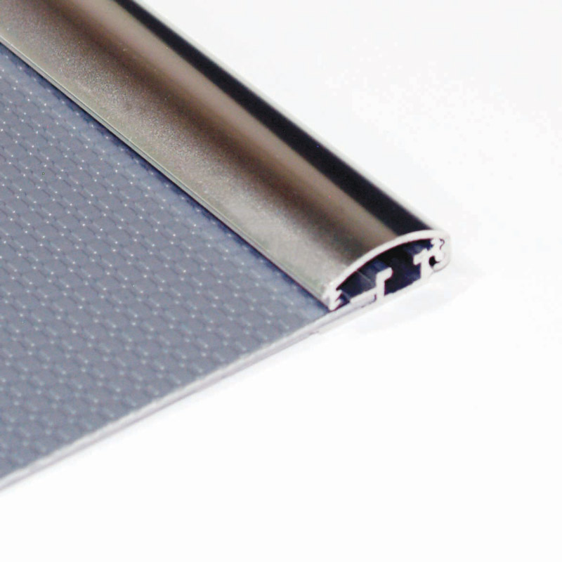 Snap Frame 25 mm A5, stainless steel look, mitred