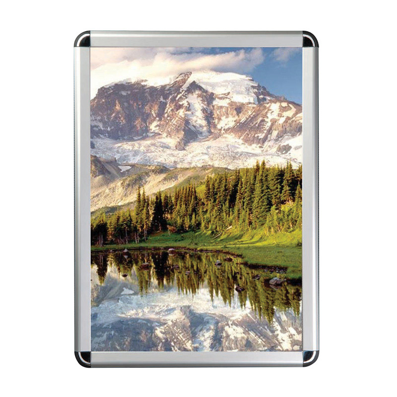 32 mm snap frame A4 round corners