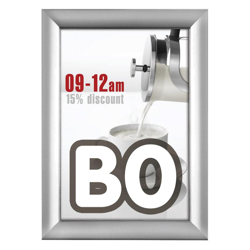 Kliklijst 38 mm B0 verstek 1000 x 1400 mm incl. anti-reflex PVC folie.