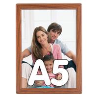 Opti Frame 14 mm A5 zonder standaard houten uitstraling 148 x 210 mm