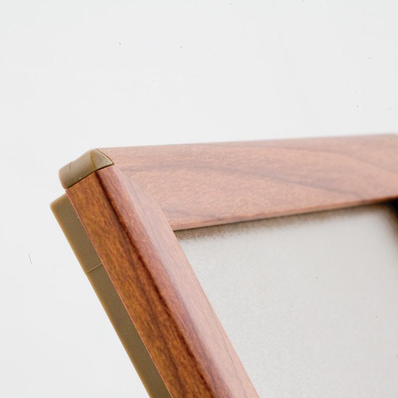 Opti Frame 14 mm A5 zonder standaard houten uitstraling