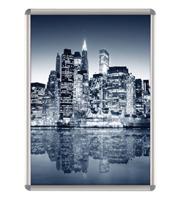Opti Frame 25 mm ronde hoek A1 zonder standaard 594 x 841 mm
