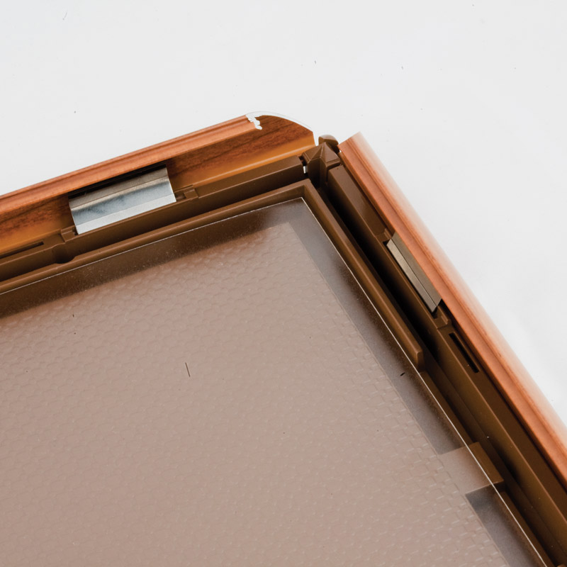 Opti frame wood 25 mm A4