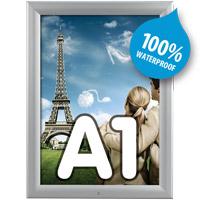 Kliklijst 35 mm A1 afsluitbaar verstek waterdicht 594 x 841 mm