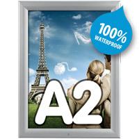 Kliklijst 35 mm A2 afsluitbaar verstek waterdicht 420 x 594 mm