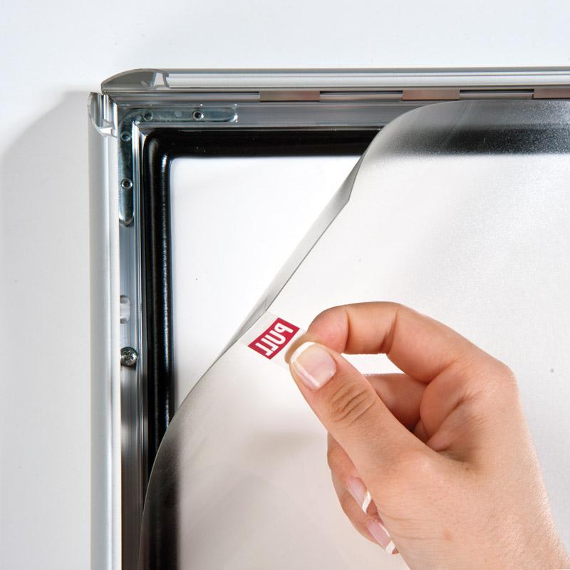 Kliklijst 35 mm A3 afsluitbaar en waterdicht