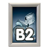 Kliklijst 32 mm B2 security verstek zonder sleutel 500 x 700 mm