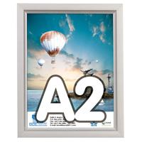 Slide-in Frame 24 mm A2 enkelzijdig verstek staand 420 x 594 mm