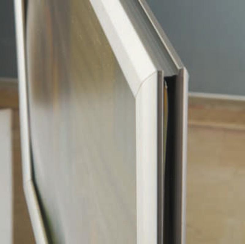 Slide-in frame 25 mm, A2, staand, dubbelzijdig