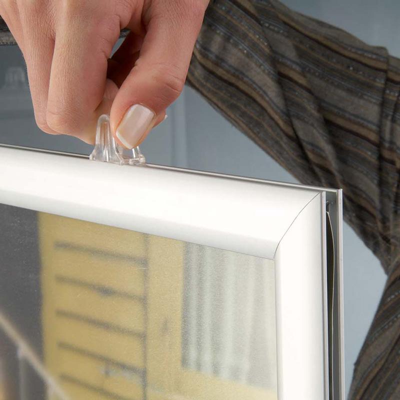 Slide-in frame 25 mm, A3, liggend, dubbelzijdig