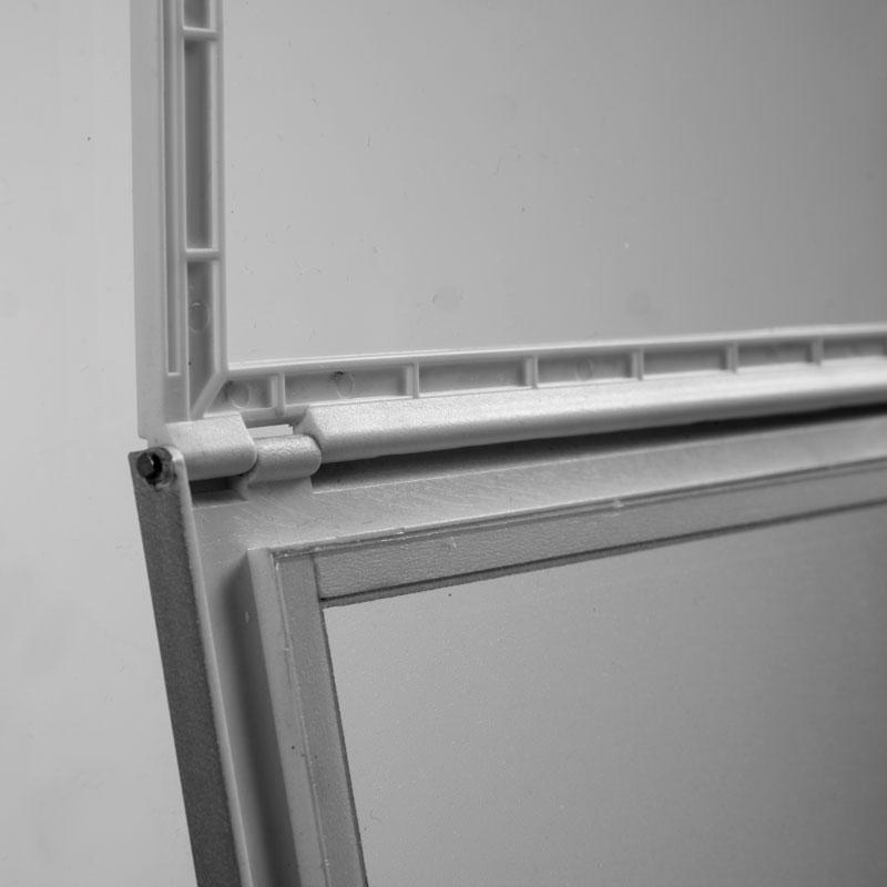 Window Sign A4, zwart, zelfklevend, magnetisch