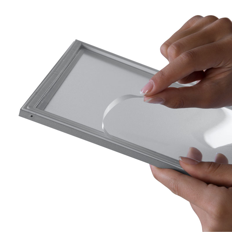 Window Sign A4, grijs, zelfklevend, magnetisch