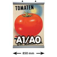 Poster Clamp profielen, A1/A0, lengte 850 mm
