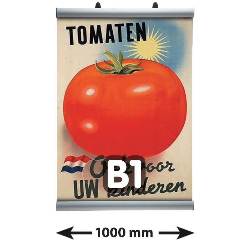 Poster Clamp profielen, B1, lengte 1000 mm