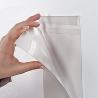 Pet Pocket D type, met tape helder A2 liggend 594 x 420 mm