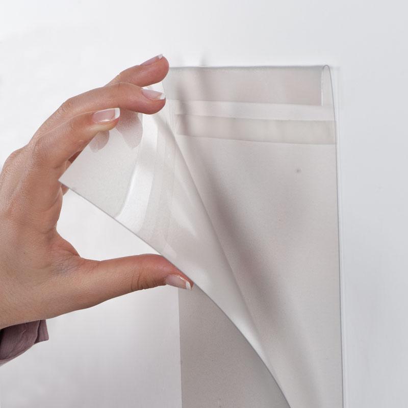 Pet Pocket D type, met tape helder A3 liggend