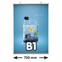 Poster Fast klemmen, B1, lengte 700 mm