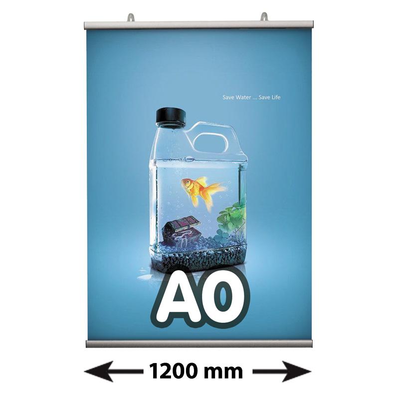 Poster Fast klemmen, A0, lengte 1200 mm