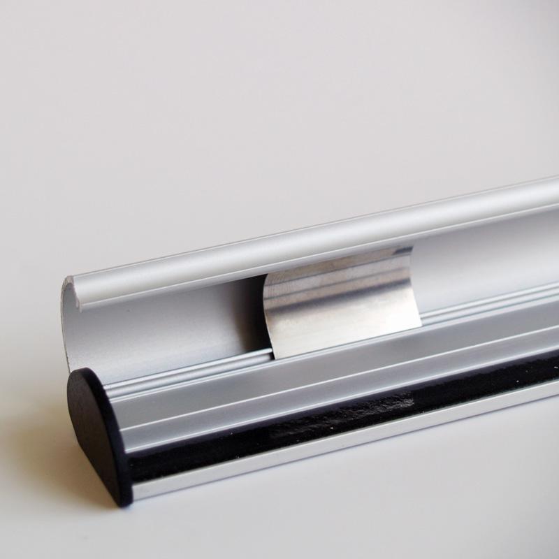 Klik posterklemmen, A1/A0, lengte 850 mm