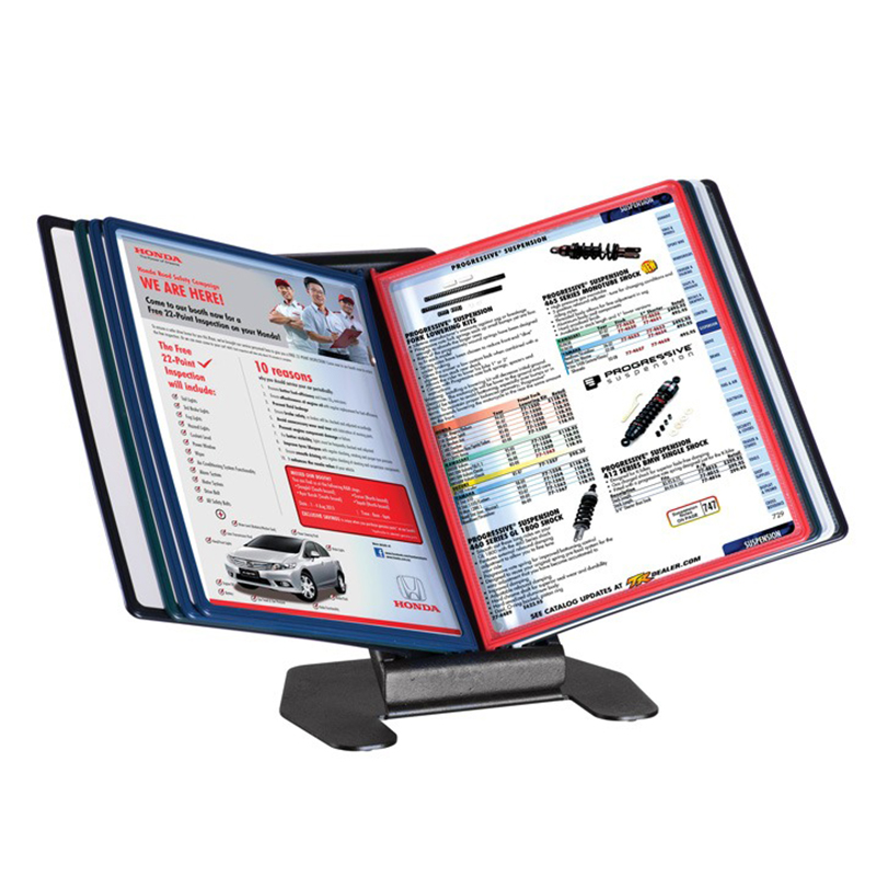 Desk stand for display A4 Ral 9005