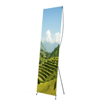 X-banner telescopic 600 x 1600/1800 mm