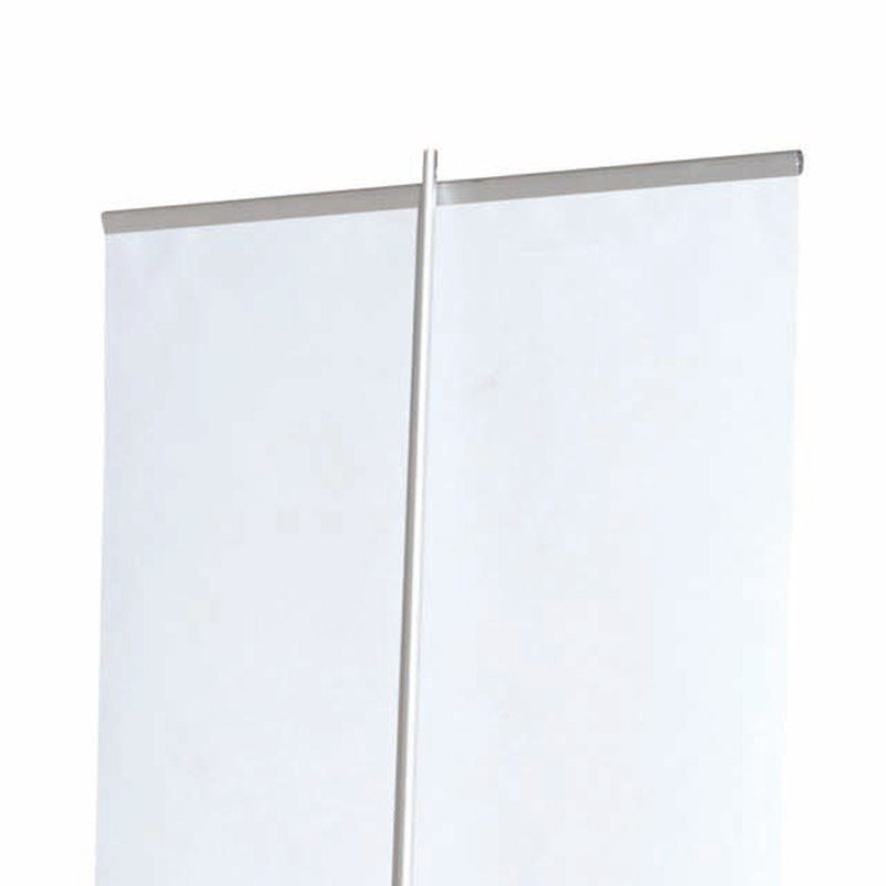 Roll banner with aluminium endcaps 800 x 2000 mm