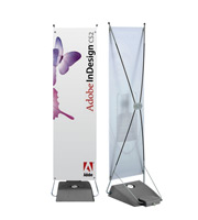 X-banner with waterbase 600 x 1550 mm