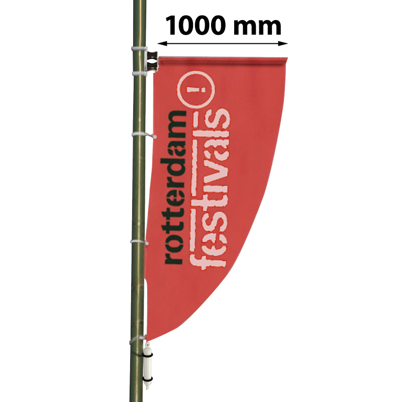 Outdoor pole banner 1000 mm