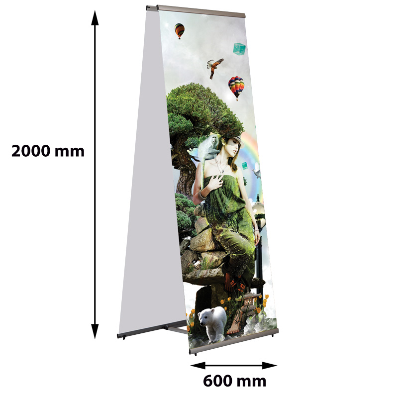 Quick Banner 600 mm double-sided