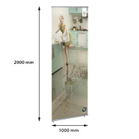 ECO Quick Banner 1000 x 2000 mm