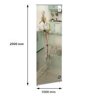 Eco Quick Banner 1000 x 2000 mm enkelzijdig