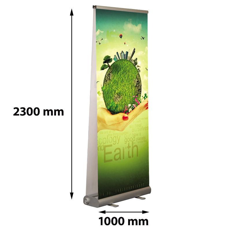 Smart Roll Banner dubbelzijdig 1000 x 2300 mm