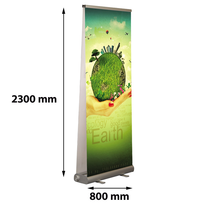 Smart roll banner 800 mm double-sided
