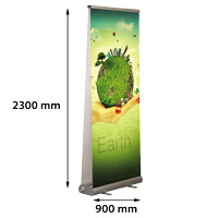Smart Roll Banner dubbelzijdig 900 x 2300 mm