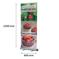Smart Roll Banner enkelzijdig 800 x 2300 mm