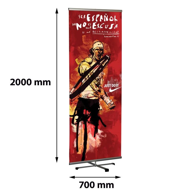 Cross Single Banner 700 x 2000 mm