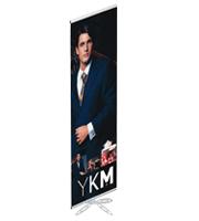 Single Banner 500 x 2000 mm variabele posterhoogte