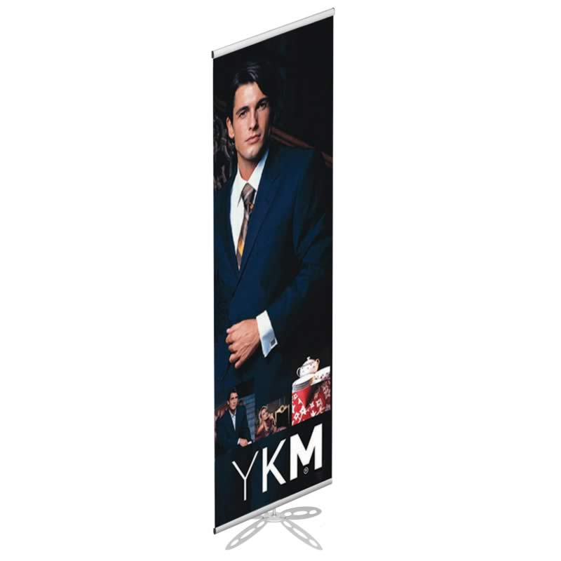 Single banner with clips 500 x 2000 mm