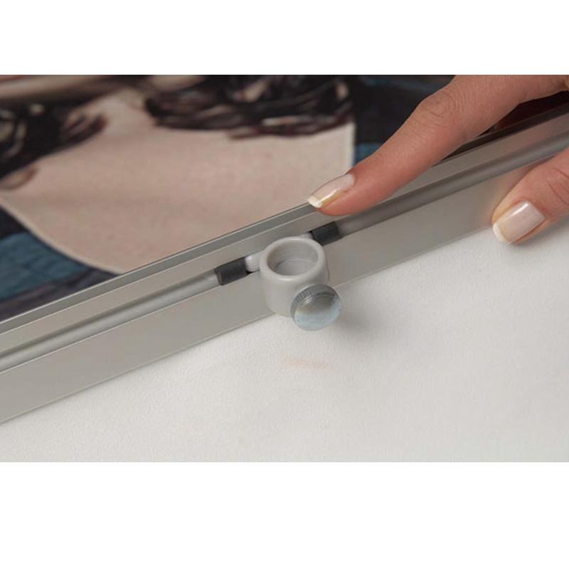 Banniere simple face avec des clips 500 x 2000 mm