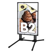 BannerPro multibase zwart B2 500 x 700 mm